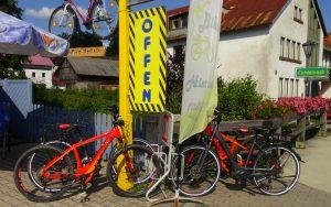 E-Bike Verleih Tankstelle Fichtelberg