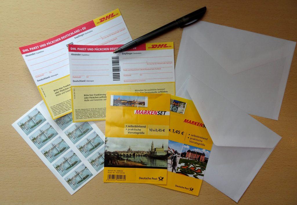 Postservice Post 95686 Fichtelberg / Bayern