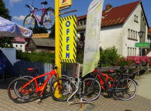E-Bike Verleih Fichtelberg Tankstelle tanken & mehr